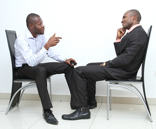 Body Language in a Job Interview - Time Wealth Spent